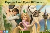 Играть Рапунцель и Флинн: найди отличия онлайн флеш игра для детей