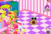 Играть Дизайн комнаты малыша Поу онлайн флеш игра для детей