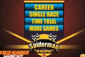 Играть Человек паук, гонка 3D онлайн флеш игра для детей