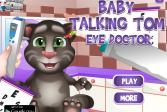 Играть Малыш Говорящий Том: Офтальмолог онлайн флеш игра для детей