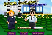 Играть Лего: Кирпичный строитель - Полицейский выпуск онлайн флеш игра для детей
