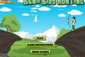 Играть Бен 10: Охота на птиц онлайн флеш игра для детей