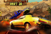 Играть Пустынный дрифт 3Д онлайн флеш игра для детей