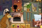 Играть Маша и Медведь: Силуэт онлайн флеш игра для детей