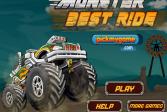 Играть Лучшая езда на монстре онлайн флеш игра для детей