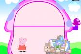 Играть Свинка Пеппа: декор маленького дома онлайн флеш игра для детей