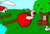 Играть Cпасение червей онлайн флеш игра для детей