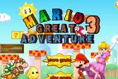Играть Марио Замечательное Приключение 3 онлайн флеш игра для детей