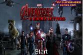 Играть Мстители 2: Скрытые буквы онлайн флеш игра для детей