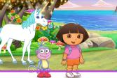Играть Даша разгадывает секреты Атлантиды онлайн флеш игра для детей