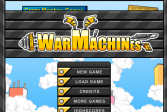 Играть Война Машин онлайн флеш игра для детей