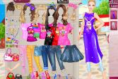 Играть Барби ходит по магазинам онлайн флеш игра для детей