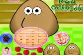 Играть Поу готовит яблочный пирог онлайн флеш игра для детей