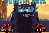 Играть Побег из парка Юрского периода. Часть 1 онлайн флеш игра для детей