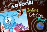 Играть Смешарики: онлайн-раскраска онлайн флеш игра для детей
