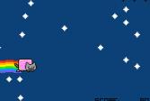 Играть Ньян-кот: Полет метеора онлайн флеш игра для детей