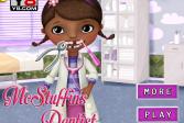 Играть Доктор Плюшева у дантиста онлайн флеш игра для детей