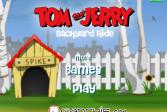 Играть Том и Джерри Задний двор Поездка онлайн флеш игра для детей