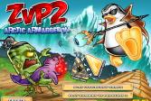 Играть Зомби против Пингвинов 2 онлайн флеш игра для детей