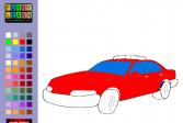 Играть Раскраска полицейской машины онлайн флеш игра для детей