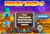 Играть Хитрый Рик 2 онлайн флеш игра для детей