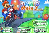 Играть Марио мото Х онлайн флеш игра для детей