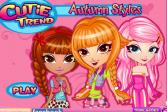 Играть Осенний стиль онлайн флеш игра для детей