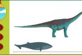 Играть Поезд Динозавров: Насколько велик? онлайн флеш игра для детей