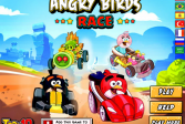Играть Гонка со Злыми Птичками онлайн флеш игра для детей