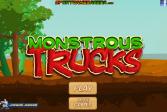 Играть Монстр Трак онлайн флеш игра для детей