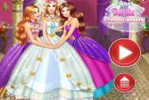 Играть Свадьба принцессы Барби онлайн флеш игра для детей