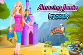 Играть Одеваем прекрасную Джеми онлайн флеш игра для детей
