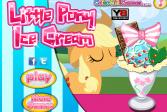 Играть Создаём мороженое для пони онлайн флеш игра для детей
