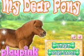 Играть Мой дорогой пони онлайн флеш игра для детей