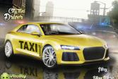 Играть Водитель городского такси онлайн флеш игра для детей