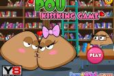 Играть Про целующихся Поу онлайн флеш игра для детей