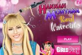Играть Ханна Монтана в парикмахерской онлайн флеш игра для детей