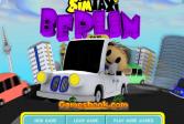 Играть Такси в Берлине онлайн флеш игра для детей