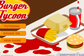 Играть Магнат бургеров онлайн флеш игра для детей