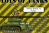 Играть Много Танков онлайн флеш игра для детей
