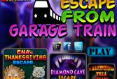 Играть Побег из вагона поезда онлайн флеш игра для детей