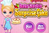Играть Малышка Барби готовит сюрприз онлайн флеш игра для детей