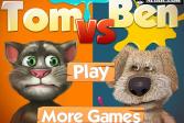 Играть Том против Бена онлайн флеш игра для детей