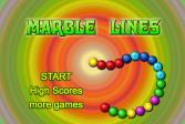 Играть Мраморные линии онлайн флеш игра для детей