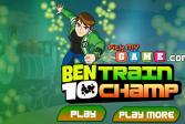 Играть Бен 10: Чемпион железной дороги онлайн флеш игра для детей