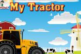 Играть Мой трактор онлайн флеш игра для детей
