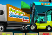 Играть Парковка в мебельном салоне онлайн флеш игра для детей