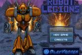 Играть Легионы роботов онлайн флеш игра для детей