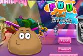 Играть Стрижка Поу онлайн флеш игра для детей