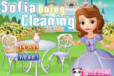Играть София делает уборку онлайн флеш игра для детей